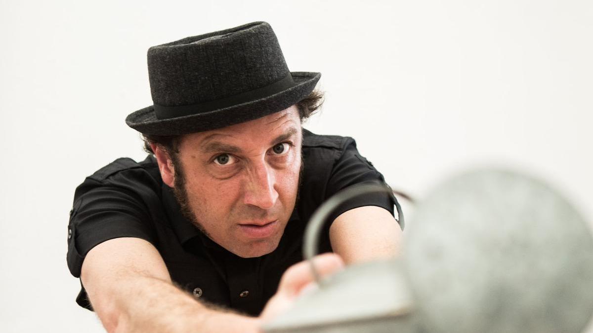 El cómico extremeño, Francis Lucas, en una imagen de promoción.