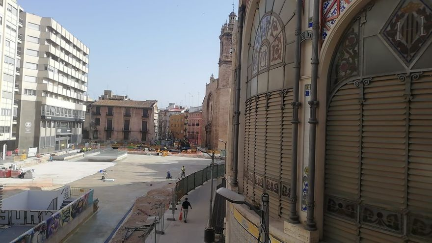 El Mercado Central urge a rehabilitar los palacios de los Exarchs