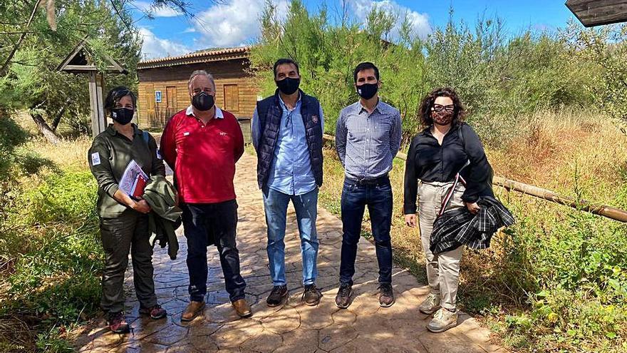 Pollença y Govern pactan un nuevo plan de gestión del humedal de la Gola