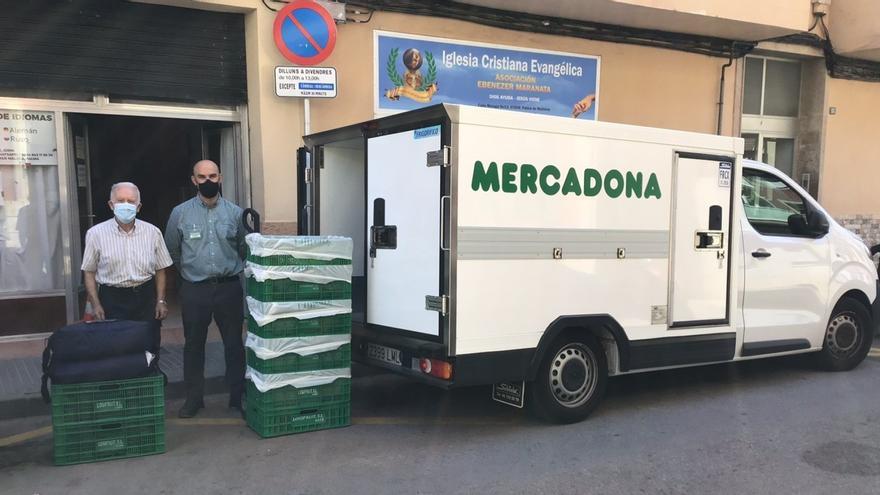 Mercadona donará a diario alimentos al comedor social Ebenezer Maranata de Palma