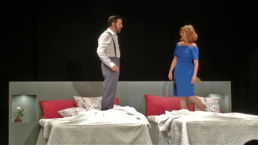 Éxito en el estreno de Candilejas Teatro con la obra 'Habitación 321-322' de Ana Diosdado