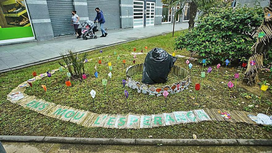 Projecte floral de la parròquia de Sta. Eugènia