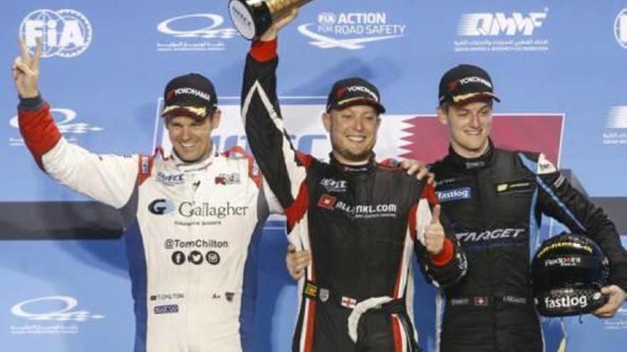 La escudería de Alzira Campos Racing empieza  con victoria el mundial de coches eléctricos
