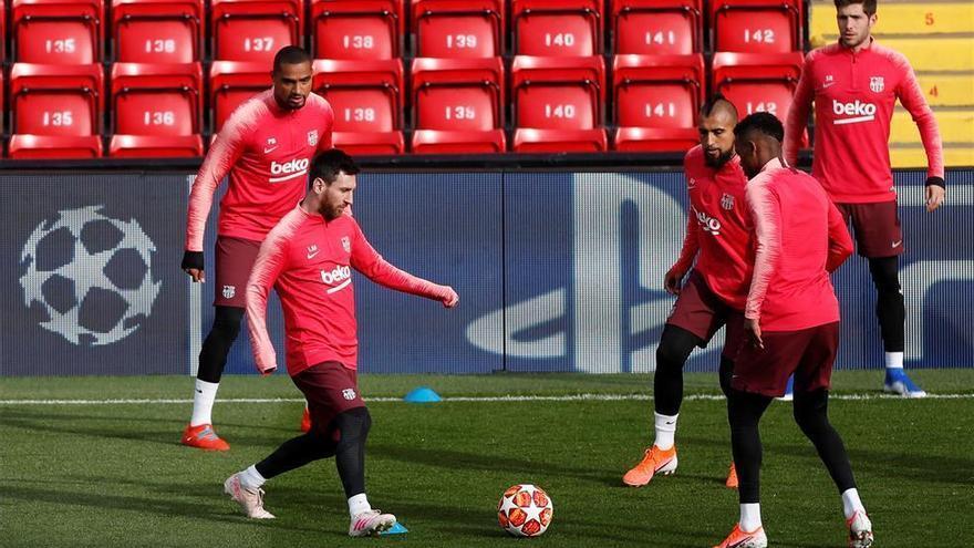 El Barça busca la final ante un Liverpool sin Salah