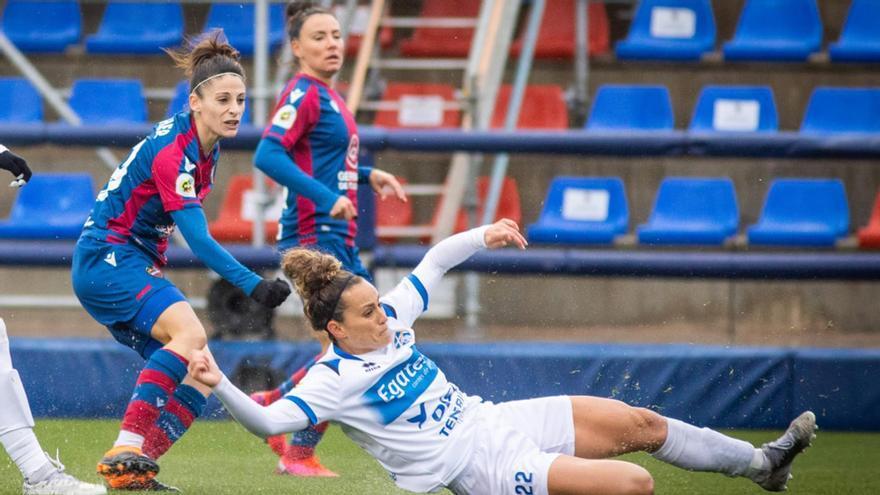 La UDG Tenerife cede en su visita al Levante UD