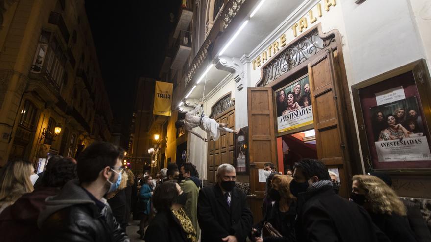 Los teatros valencianos seguirán abiertos en la tercera ola