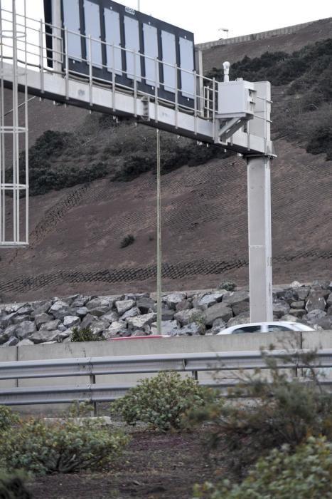 05-02-20 LAS PALMAS DE GRAN CANARIA. ZONA DE JINAMAR. LAS PALMAS DE GRAN CANARIA. Radar que mas multas pone   Fotos: Juan Castro.  | 05/02/2020 | Fotógrafo: Juan Carlos Castro