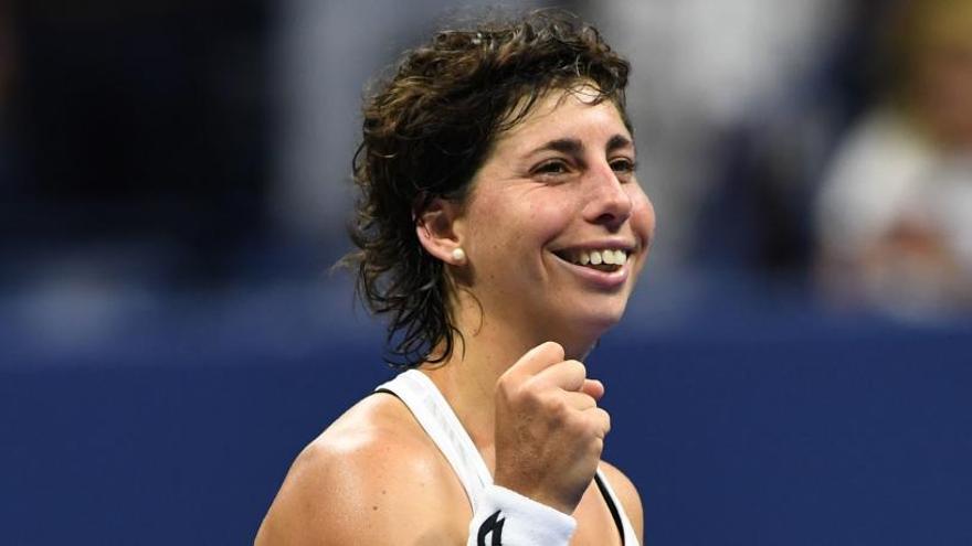 Carla Suárez sorprende a Sharapova y jugará con Keys en cuartos del US Open