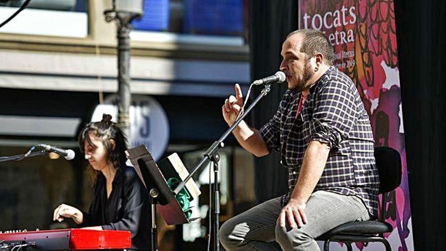 Accent reivindicatiu al cicle Tocats de Lletra amb l'activista David Fernàndez