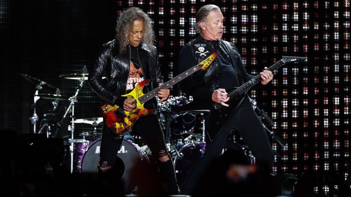 Metallica, en un concierto
