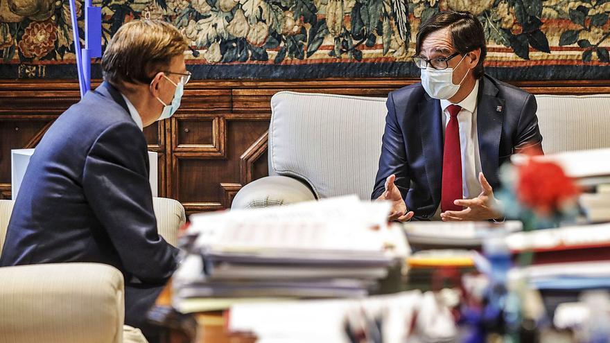 Puig mira también a Cataluña para crear una alianza global contra la infrafinanciación