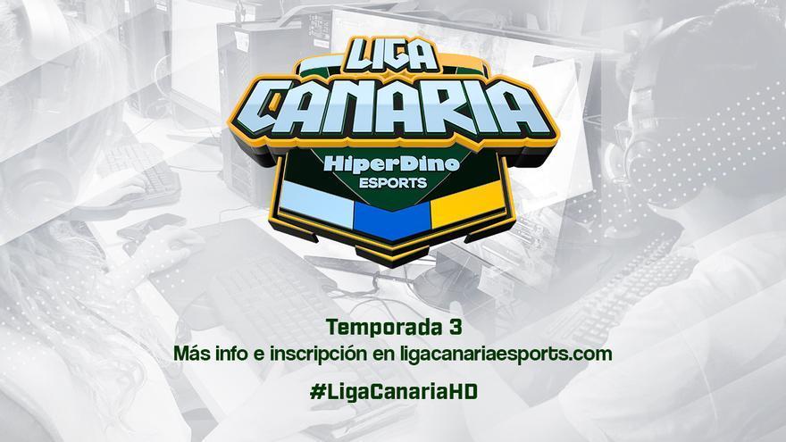 La 'Liga Canaria de Esports HiperDino' contará con casi 300 torneos en su tercera edición