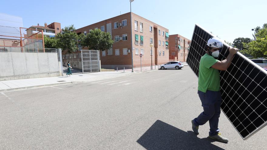 Azcón quiere crear otros siete barrios solares en Zaragoza si llegan fondos de la UE