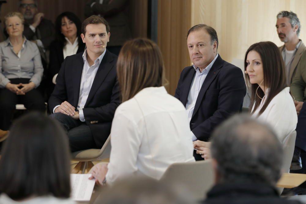Albert Rivera presenta a Joan Mesquida como candidato de Ciudadanos al Congreso por Baleares