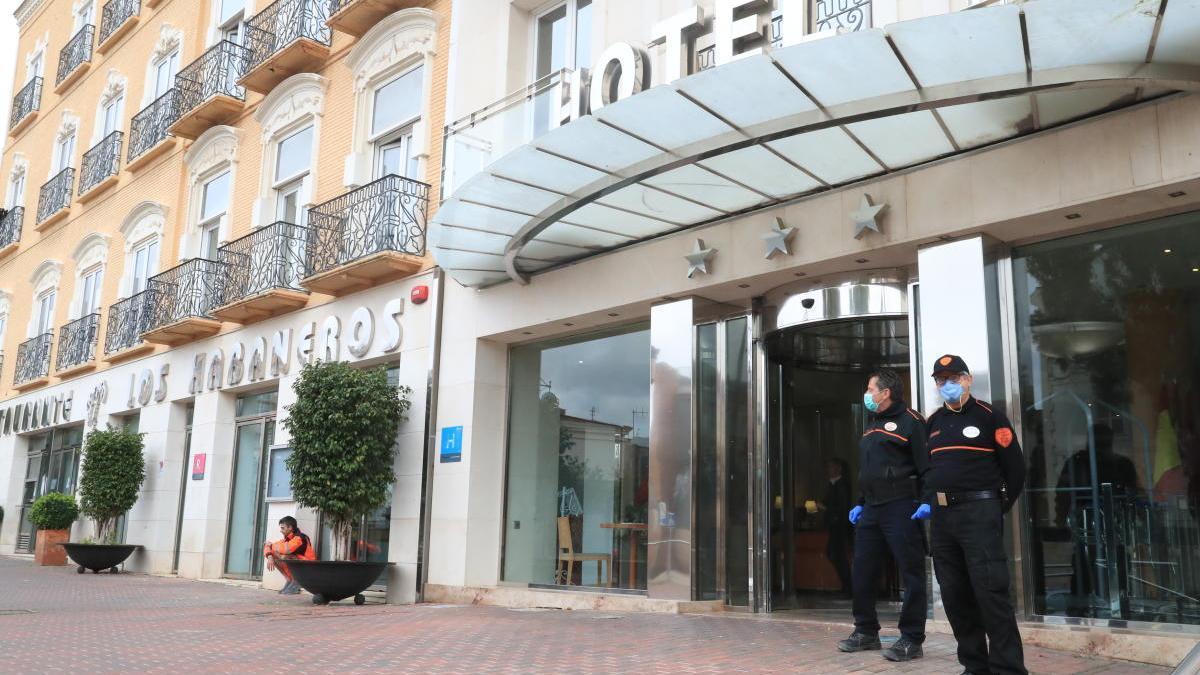 Hotel Los Habeneros de Cartagena.