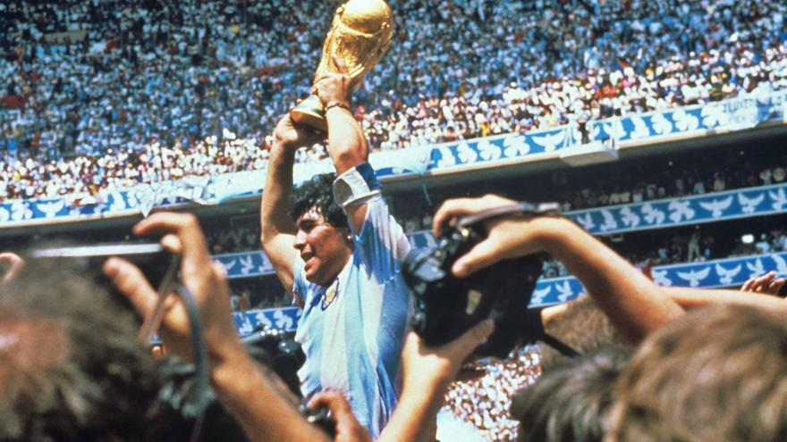 """""""Diego Maradona es eterno"""""""