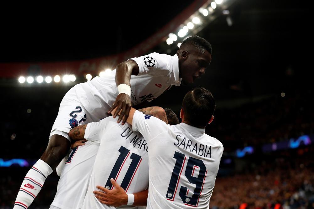 Las imágenes del PSG - Real Madrid.