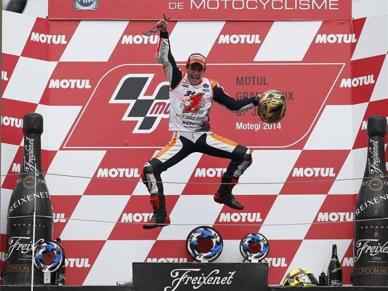 Márquez, bicampeón de MotoGP