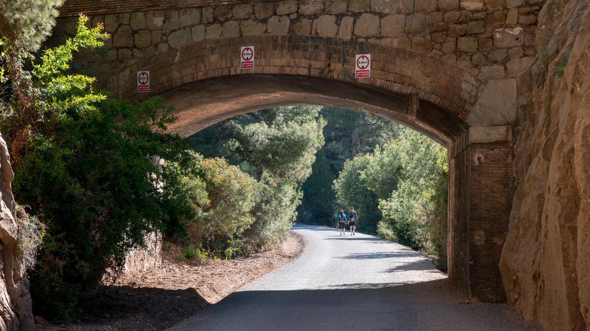 La vía verde del mar, que discurre entre Benicàssim y Orpesa, es un recorrido ideal para disfrutar del paseo a pie y en bici con vistas espectaculares