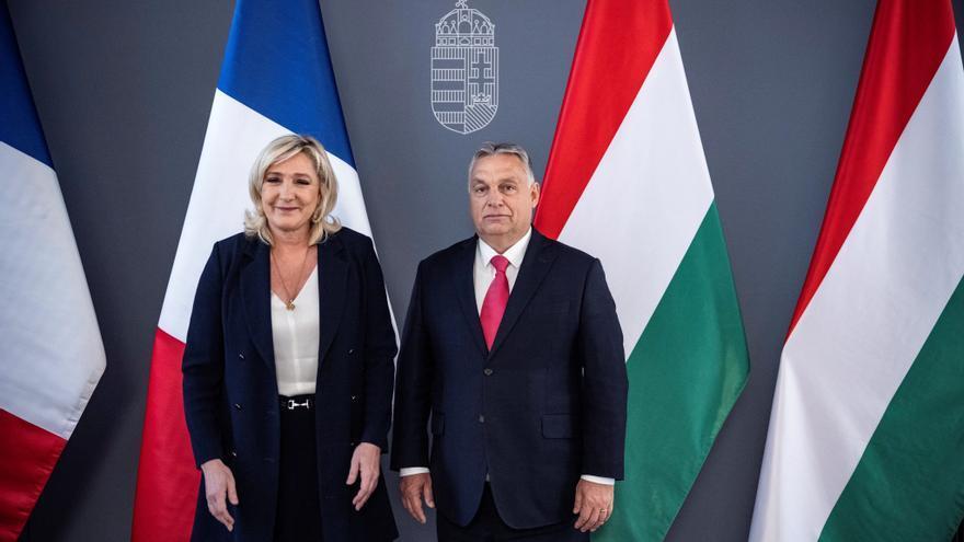 Le Pen se reúne con Orbán en Budapest, nuevo lugar de peregrinación de la ultraderecha