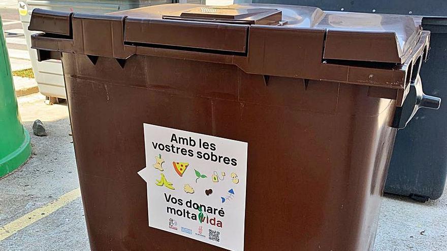 Alboraia introdueix  el contenidor marró