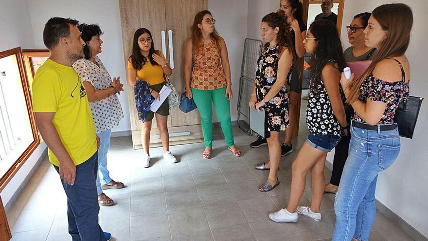 La residencia de estudiantes abre una lista de espera tras agotar las ocho plazas