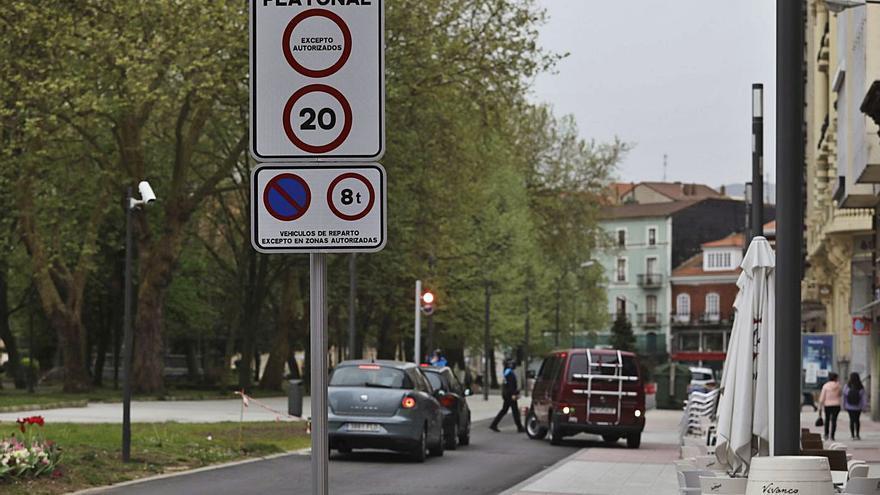 La señalización vial en Emile Robin será reforzada a la vista de los incumplimientos