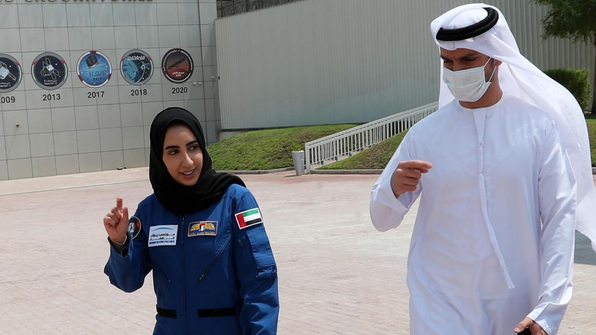 La primera mujer árabe astronauta que quiere romper todos los estereotipos.