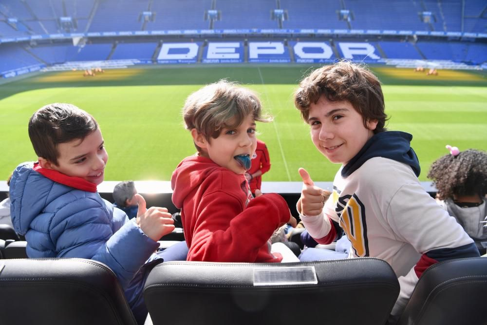 Los estudiantes tuvieron la oportunidad de charlar y formular preguntas a los jugadores del Fabril, Aarón Sánchez y Pedro Martelo.