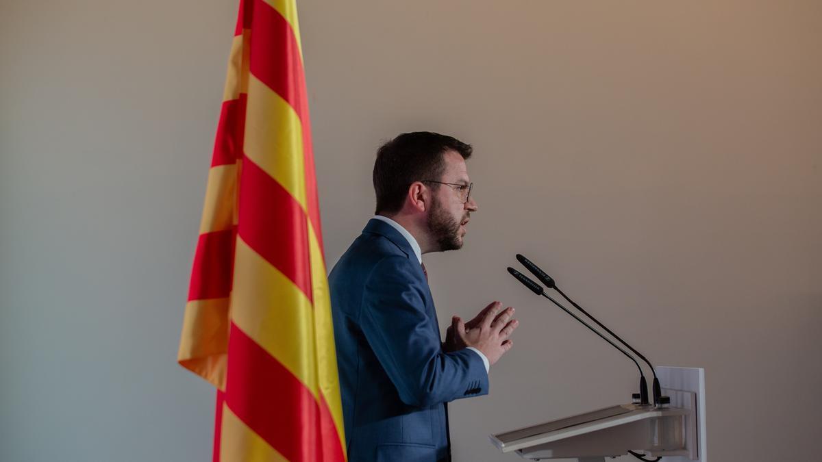 El nou president de la Generalitat, Pere Aragonès.