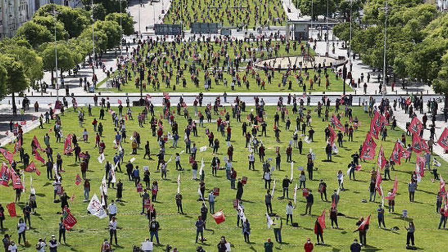 Polémica concentración en Lisboa el 1 de mayo