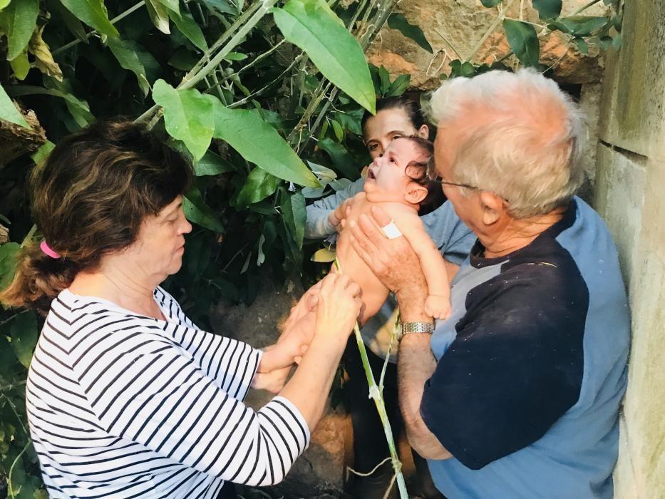 Adiós a las hernias tras el paso mágico por el 'vimer' de Manacor el día de Sant Joan