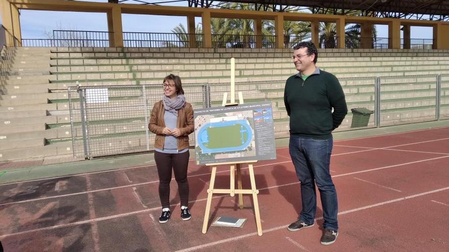Dénia estrenará en junio la primera pista de atletismo homologada de la Marina Alta