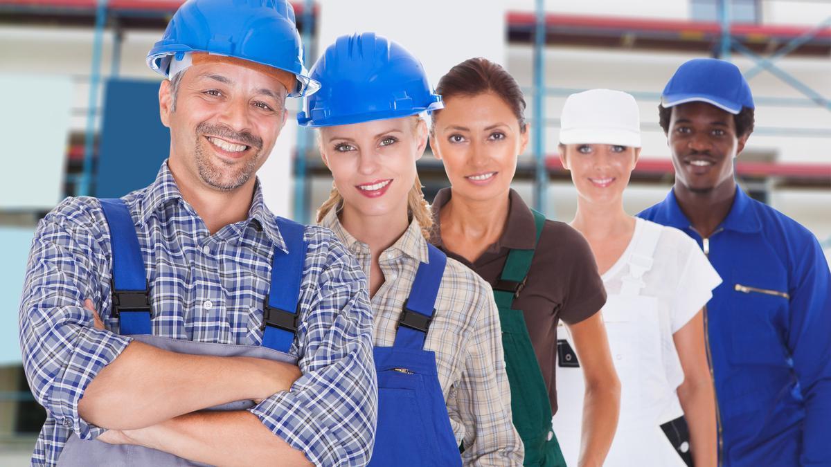Ofertas de empleo para los autónomos de la construcción.