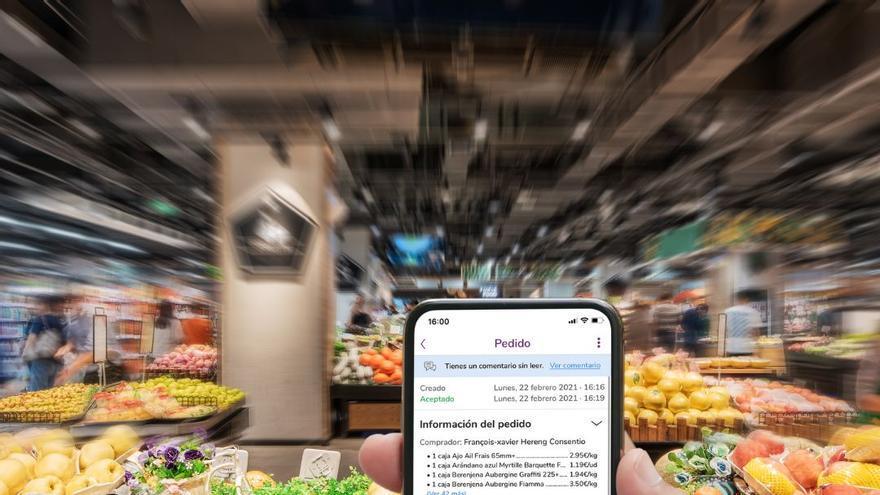 La pandemia aflora la digitalización en el sector de las frutas y verduras