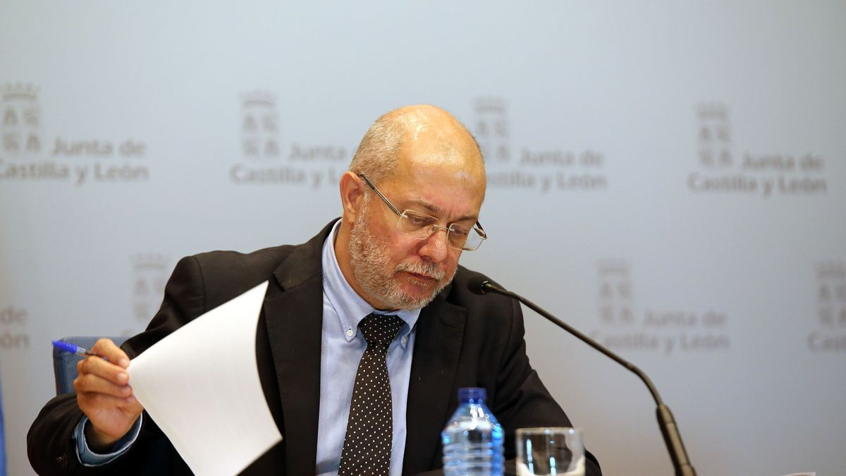 Francisco Igea en la sede de la Junta