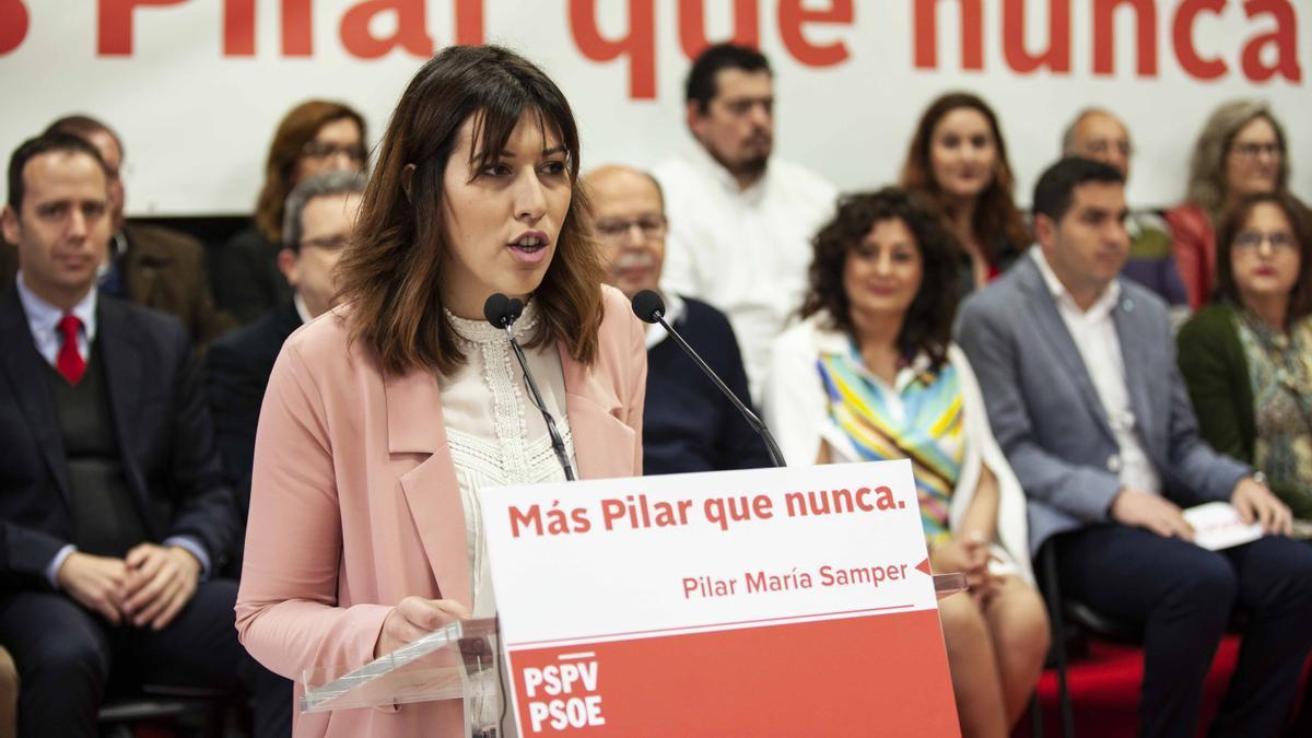 La edil socialista de Pilar de la Horadada, Arantxa Martínez