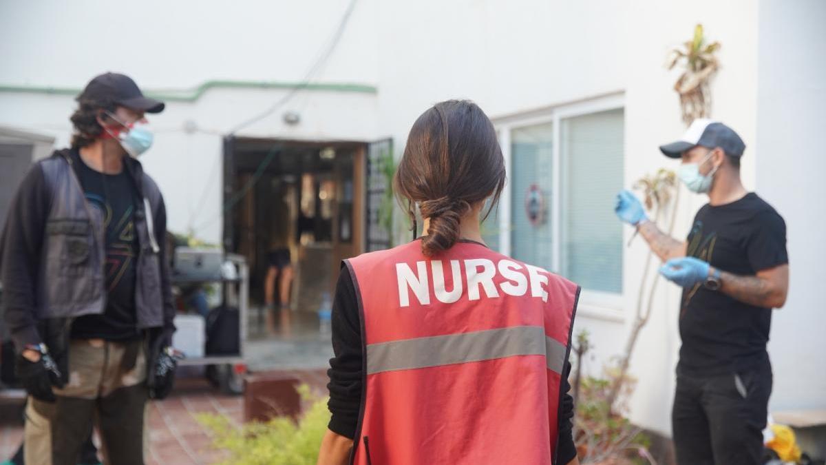 Una campaña del Ministerio de Sanidad, primer rodaje en Mallorca tras el coronavirus