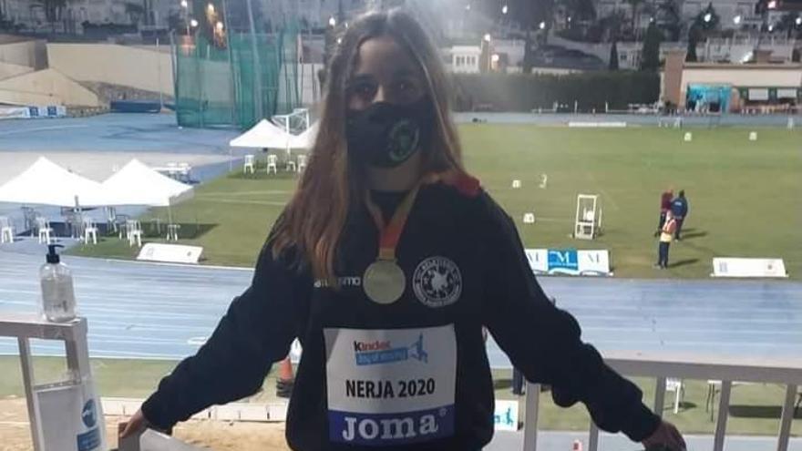 Miriam Blasco conquista el oro en el Nacional de Nerja