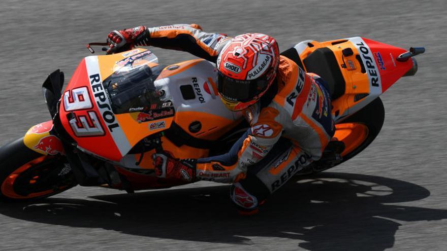 Márquez torna a volar a Sachsenring i signa una pole de rècord