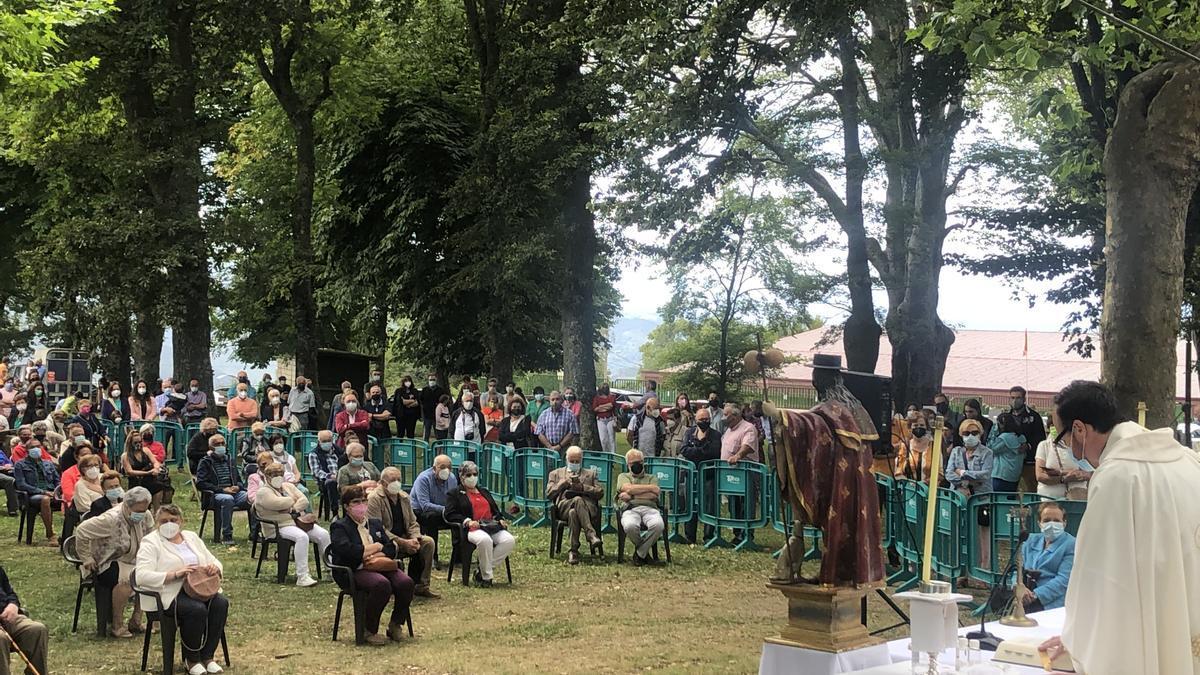 Celebración de San Roque en Tineo