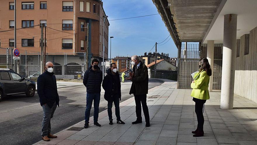 Siero inicia la obra de Leopoldo Lugones, primer paso del plan de peatonalizaciones