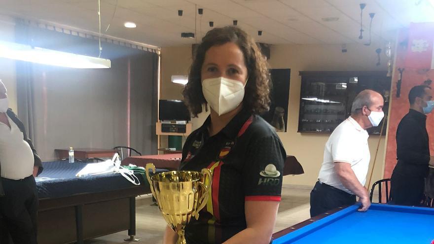 La cartagenera Estela Cardoso gana el primer gran torneo de la nueva normalidad