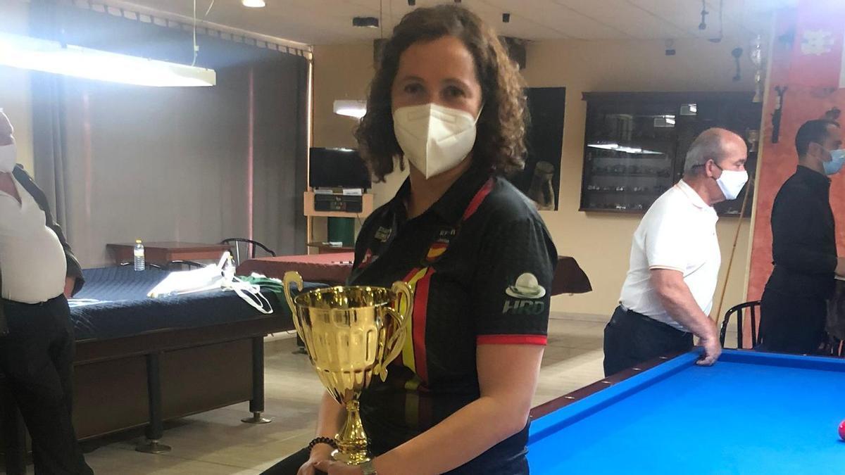 Estela Cardoso en el Gran Premio de España en Baeza