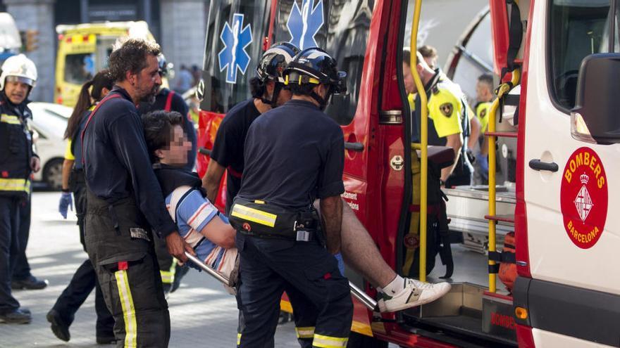 """Una víctima del atentado de Barcelona: """"Mi hijo de 4 años vio morir a su padre"""""""