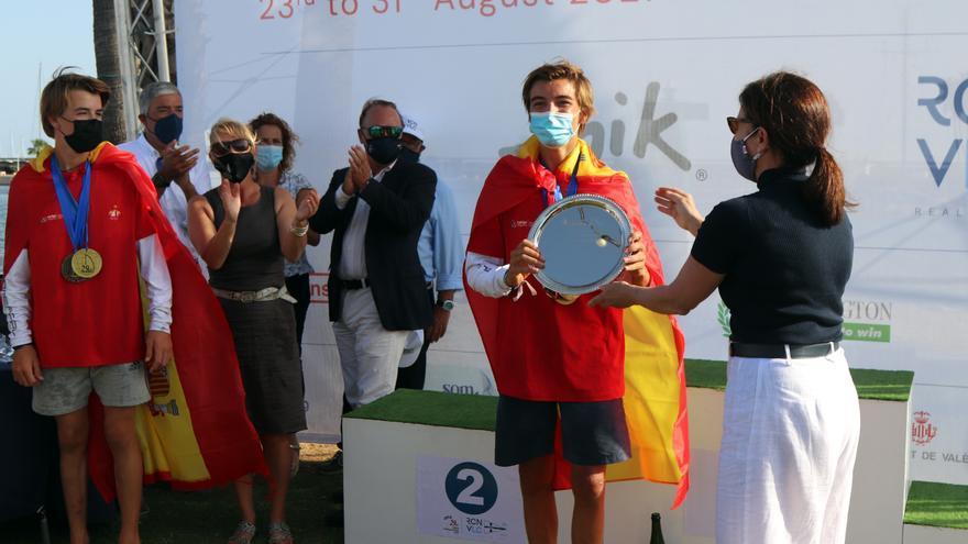 España se baña en oro, plata y bronce en el Mundial Zhik 29er de València