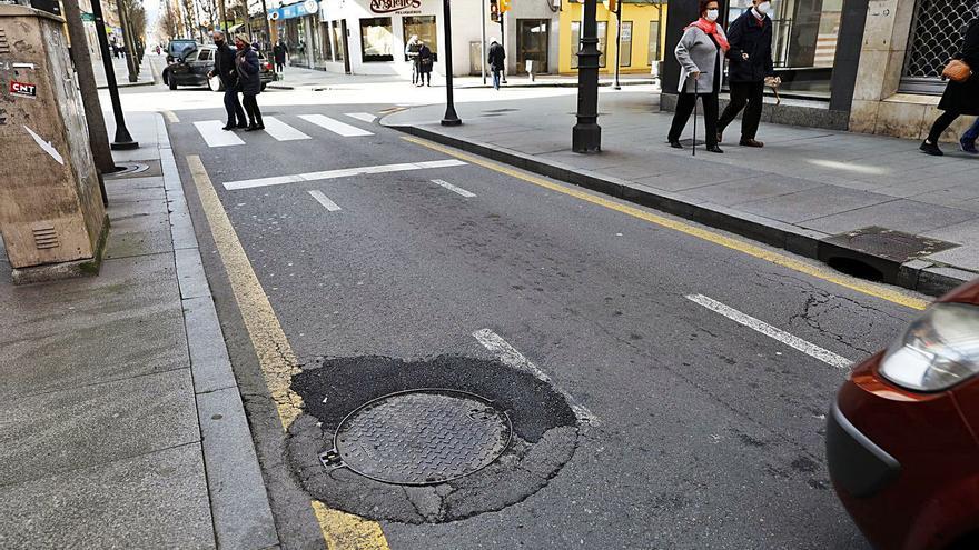 La avenida de la Argentina contará con un nuevo pavimento en la calzada