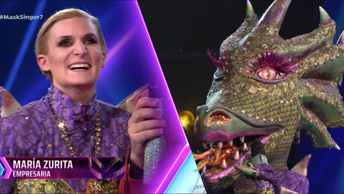 María Zurita era Dragona en 'Mask Singer 2'.