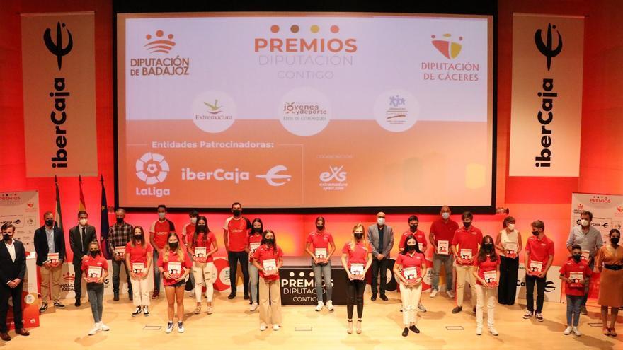 FJyD y las diputaciones de Cáceres y Badajoz entregan los  I Premios 'Diputación Contigo'