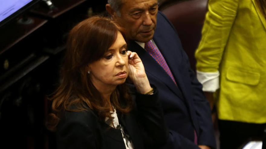 Un juez pide retirar la inmunidad a Cristina Fernández
